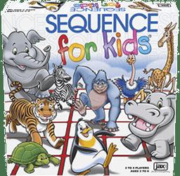 Sekwencja dla dzieci: gra planszowa dla dzieci