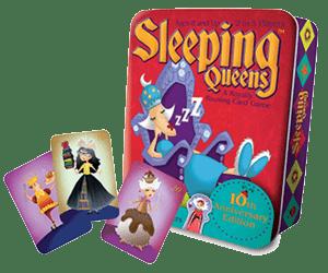 Śpiące królowe: gra karciana dla dzieci