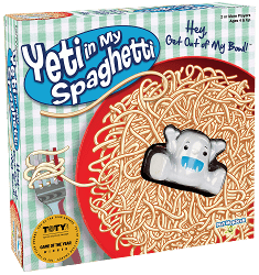 Yeti in My Spaghetti: Board Game for Kids