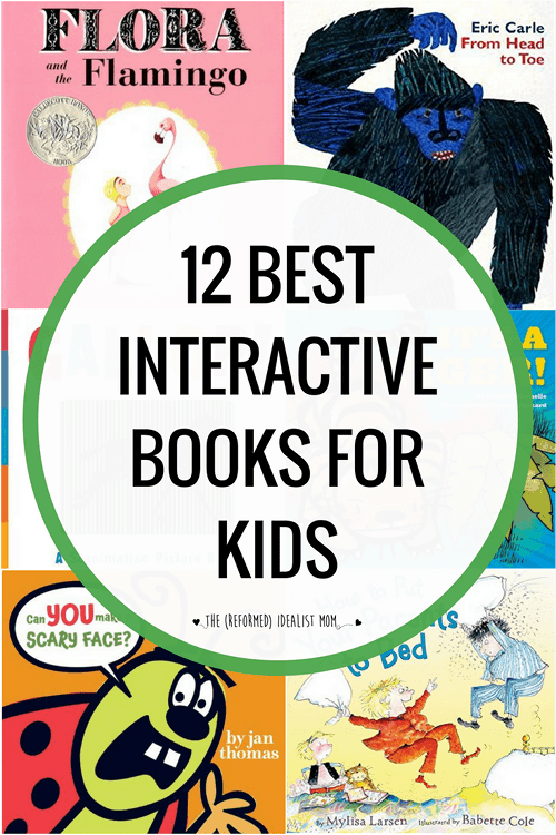When your toddler or preschooler can't sit still long enough for a story, you need this list of the best interactive books for kids. Perfect for high-energy kids, this list of books to read out loud is guaranteed to get the wiggles out!