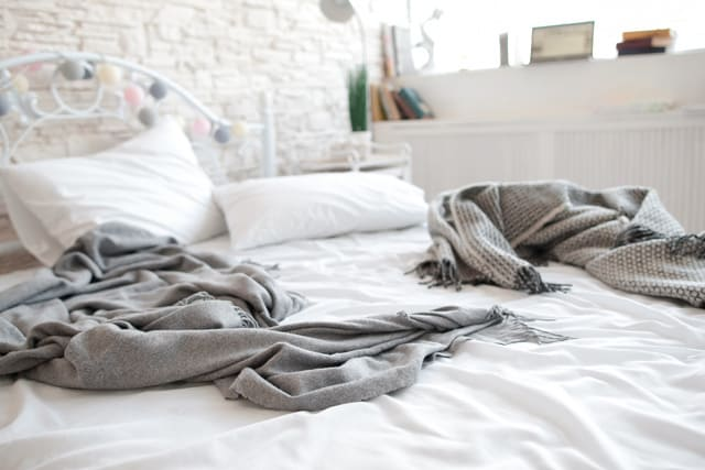 For the best after school routine, cozy up in bed