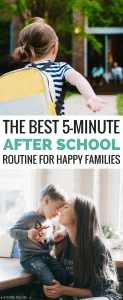 The 5-Minute After School Routine That Will Make Your Family Stronger