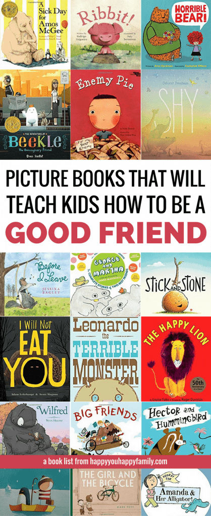 The Ultimate List of the Best Picture Books About Friendship