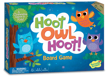 Hoot Owl Hoot: Board Game for Preschoolers