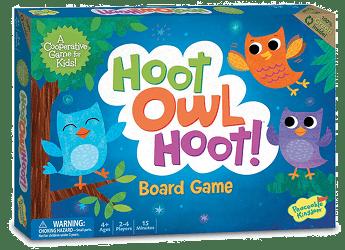 Hoot Owl Hoot: Gra planszowa dla przedszkolaków