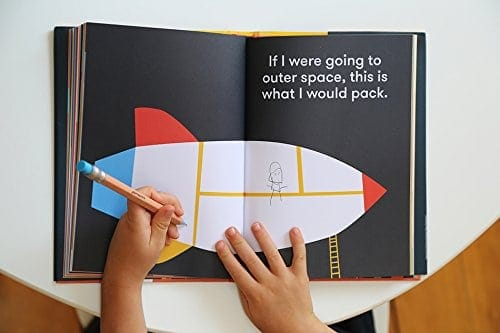 This journal for kids is perfect for preschoolers, kindergarteners, and early grade schoolers