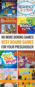 Forget Chutes & Ladders! This Is the Best List of Preschool Board Games