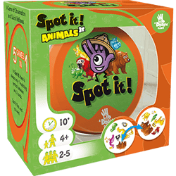Spot It! Jr Animals: Card Game for Preschoolers