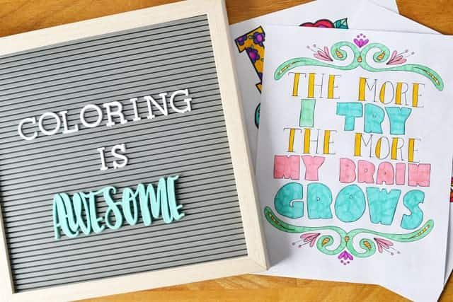 Growth mindset posters that are actually fun for kids