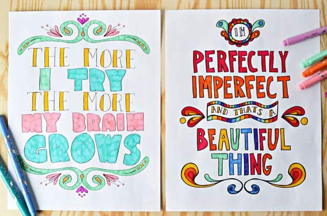 Growth mindset posters that will inspire your kid to keep trying