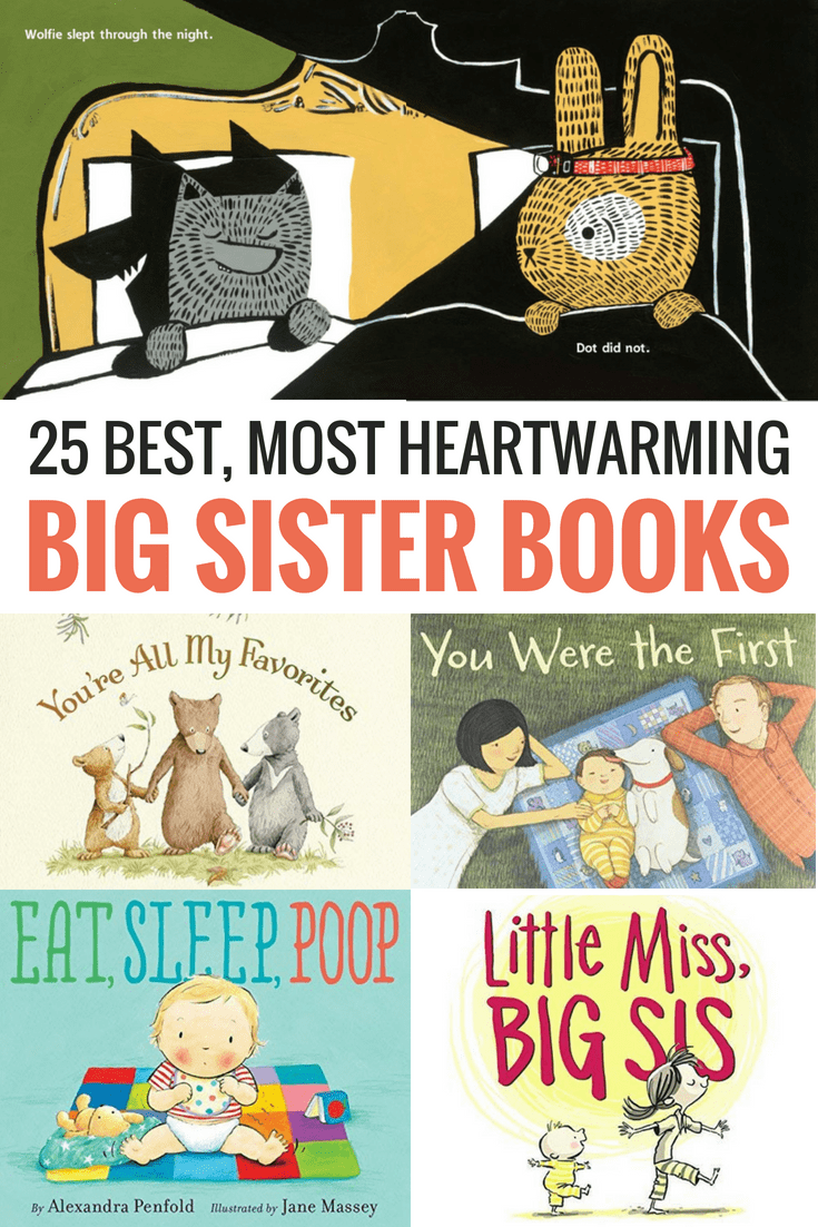 25 Best Big Sister Books to Get Your Child Ready to Be a Big Sis