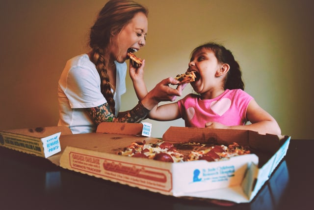 Looking for mother-daughter date ideas? Take her out for pizza