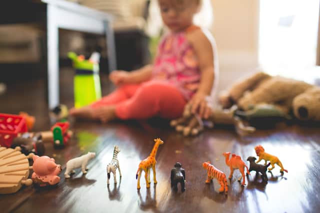When you have too many toys, your child can't engage as deeply as she needs to learn from the play experience