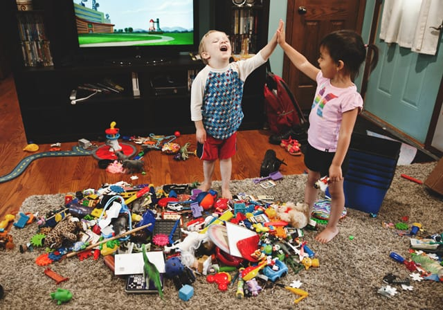 The real problem with toy clutter? Too many toys