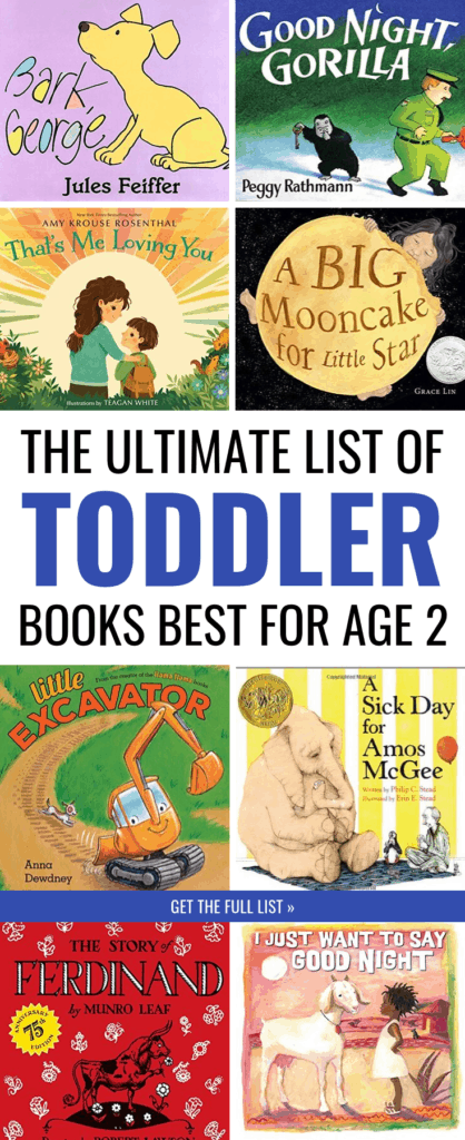 The Ultimate List of the Best Books for 2-Year-Olds