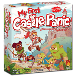 My First Castle Panic: Board Game for Kids