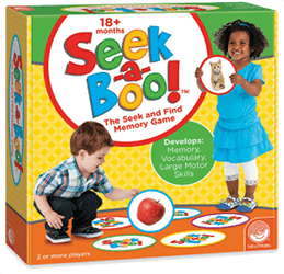 Seek-a-Boo: Board Game for Toddlers