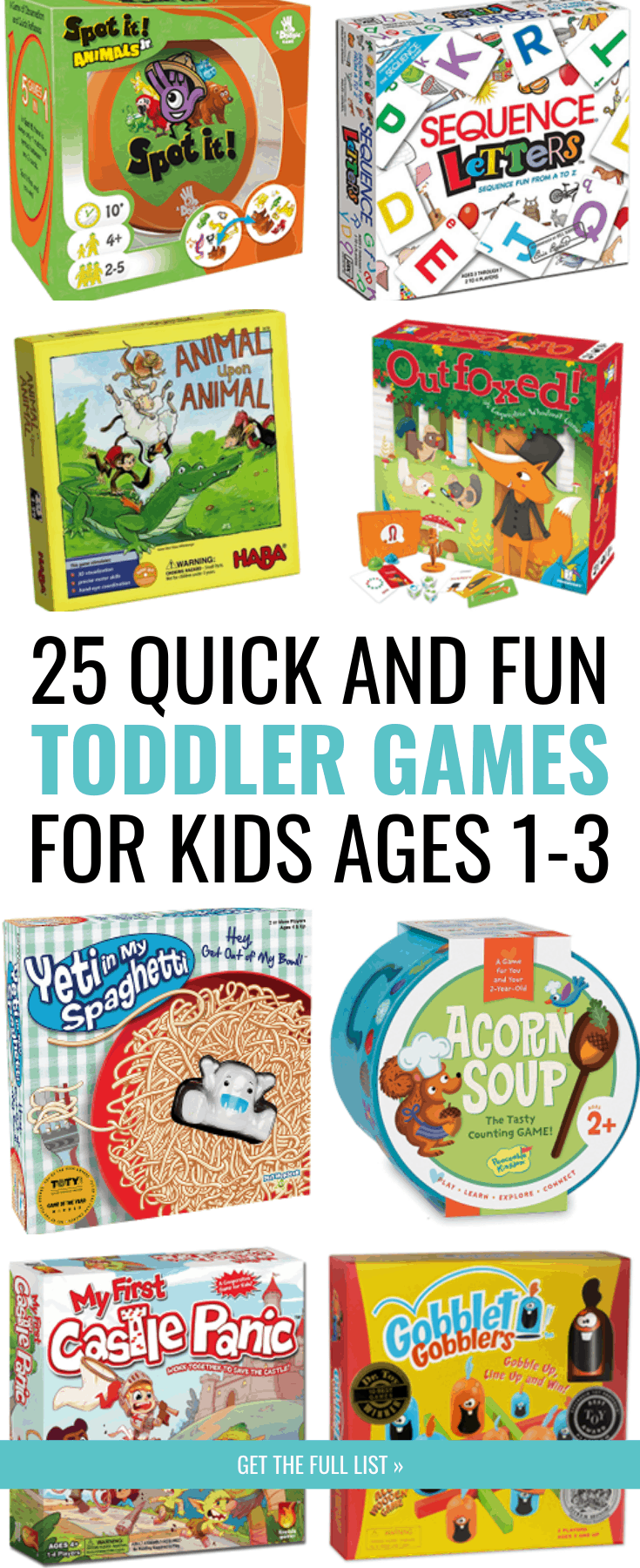 The Best 25 Toddler Board Games That Will Become Family Favorites
