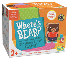 Where's Bear: Board Game for Toddlers