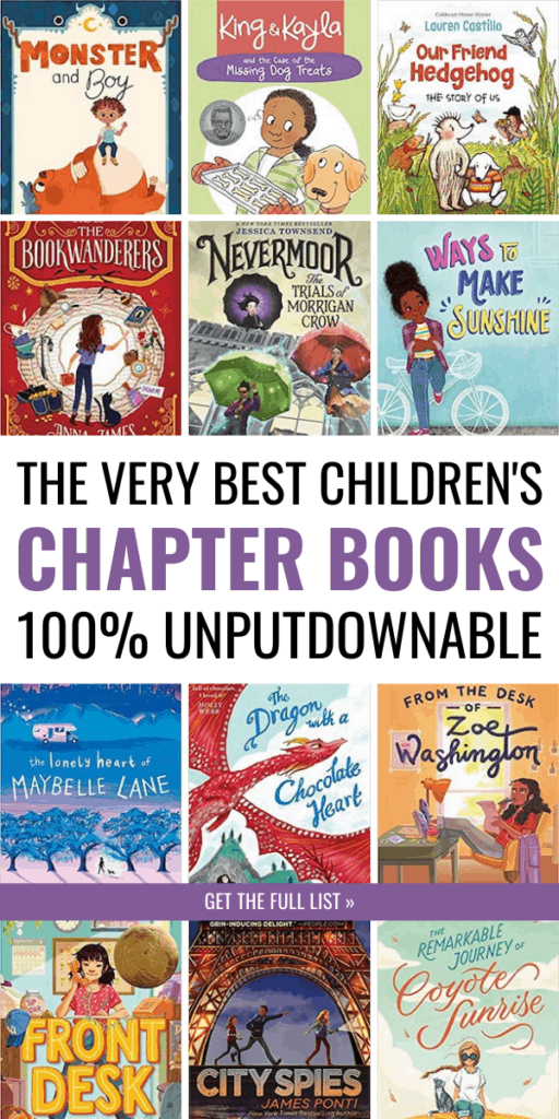The Most Unputdownable Chapter Books for Kids, Approved by Kids and Parents