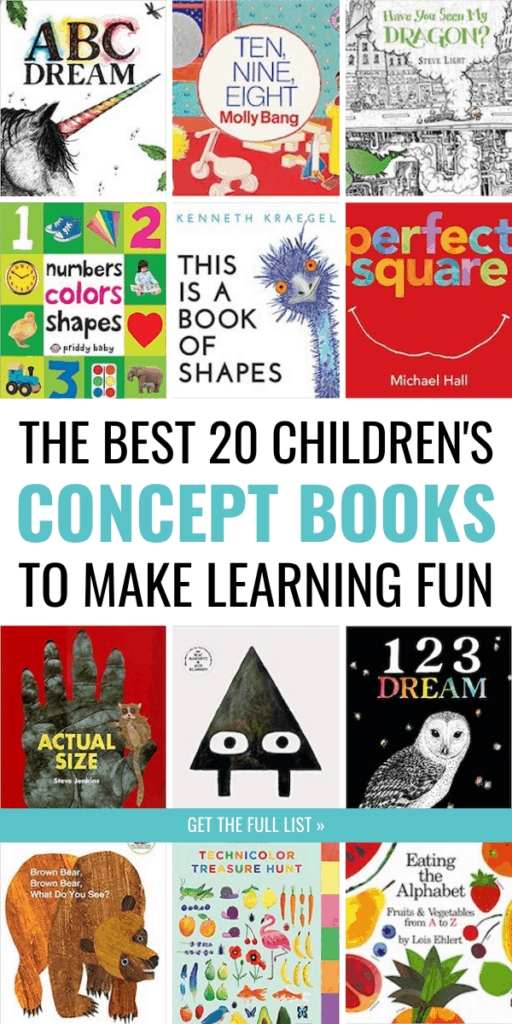 The Best 20 Concept Books That Will Make Learning Fun for Your Child