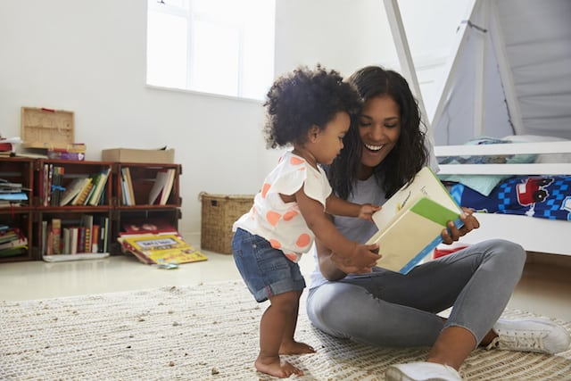 The benefits of reading aloud occur no matter what you read